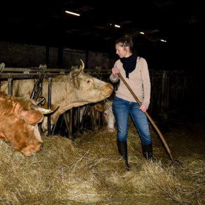 Émilie Jeannin, l'éleveuse qui amène l'abattoir à la ferme